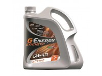 5W40 G-ENERGY SYNTHETIC ACTIVE 4л масло 253142410