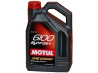 10W40 6100 SYNERGIE+ MOTUL 4л масло моторное 101491