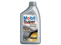 5W40 SUPER 3000 DISEL X1 MOBIL 1л масло моторное